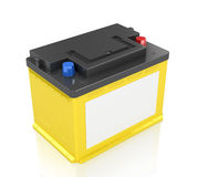 Automobile Batteries Stock Photography