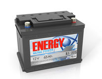 Automobile Batteries Royalty Free Stock Photo