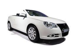 Automobile bianca Fotografia Stock Libera da Diritti
