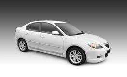 Automobile bianca Royalty Illustrazione gratis