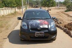 Automobile birmana, Myanmar fotografie stock