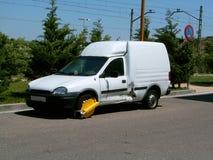Automobile bloccata Fotografia Stock Libera da Diritti