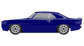Automobile blu Fotografie Stock Libere da Diritti