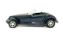 Automobile blu del giocattolo (immagine 8.2mp) immagine stock libera da diritti