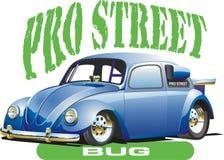 Automobile blu di resistenza illustrazione di stock