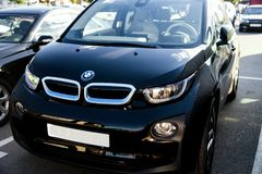 Automobile BMW i3 Fotografie Stock Libere da Diritti