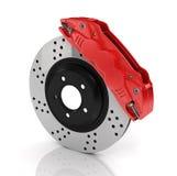 Automobile braking system. Royalty Free Stock Photos