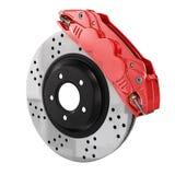 Automobile braking system. Royalty Free Stock Image