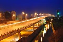 Automobile bridge Stock Image