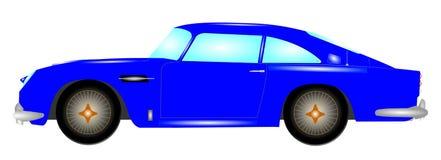 Automobile britannica della spia Fotografie Stock Libere da Diritti