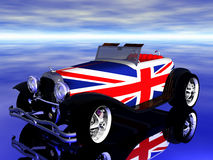 Automobile britannique illustration libre de droits