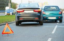 Automobile car crash collision Royalty Free Stock Photography