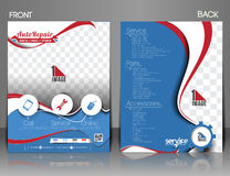 Free Automobile Center Flyer Royalty Free Stock Images - 45116209