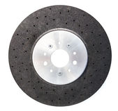 Automobile ceramic composite brake disk Royalty Free Stock Photos