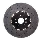 Automobile ceramic composite brake disk Stock Image