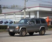 Automobile cherokee privata della jeep 4X4 Immagine Stock Libera da Diritti