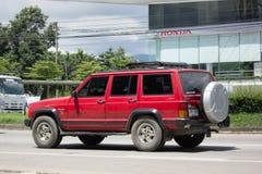 Automobile cherokee privata della jeep 4X4 Fotografie Stock Libere da Diritti