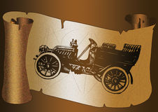 Automobile classica Fotografia Stock