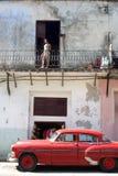 Automobile classica cubana Fotografia Stock Libera da Diritti