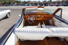Automobile classica d'annata esotica su esposizione Fotografie Stock Libere da Diritti