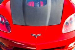 Automobile classica d'annata esotica su esposizione Immagine Stock