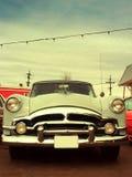 Automobile classica dell'americano 50s Fotografia Stock
