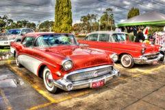 Automobile classica dell'americano degli anni 50 fotografia stock