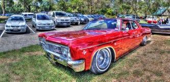 Automobile classica dell'americano degli anni 60 fotografia stock