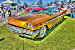 Automobile classica dell'americano degli anni 60 fotografie stock libere da diritti