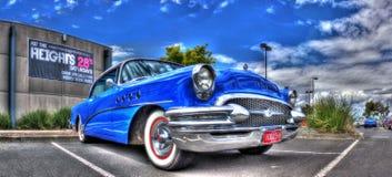 Automobile classica dell'americano degli anni 50 Fotografia Stock Libera da Diritti