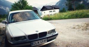Automobile classica di BMW 7 fotografia stock