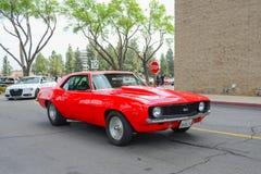 Automobile classica di Chevrolet Chevelle ss su esposizione Fotografie Stock