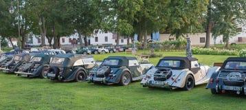 Automobile classica di Morgan fotografie stock