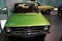 Automobile classica verde di audi Fotografia Stock