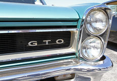 Automobile classique de Pontiac GTO Image libre de droits