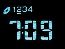 Automobile clock Stock Photo