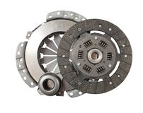 Automobile clutch Stock Photography
