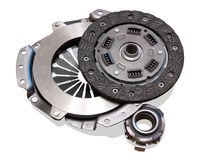 Automobile  clutch Stock Image