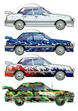 Automobile. Coloritura. Royalty Illustrazione gratis