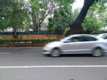 Automobile commovente Fotografie Stock Libere da Diritti