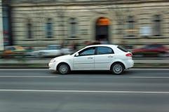 Automobile commovente Fotografia Stock