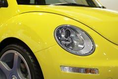 Automobile compatta di retro stile fotografia stock