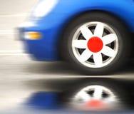 Automobile compatta di viaggio Immagini Stock Libere da Diritti