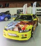 Automobile con airbrushing fotografie stock