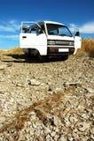 Automobile con le porte aperte Fotografia Stock Libera da Diritti