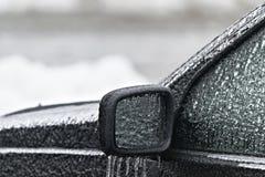 Automobile congelata fotografia stock libera da diritti