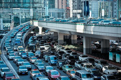 Automobile congestion Royalty Free Stock Photo