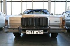 Automobile continentale 1975 della città di Lincoln Fotografia Stock
