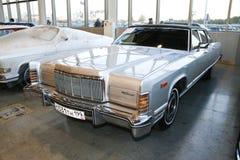 Automobile continentale 1975 della città di Lincoln Fotografie Stock