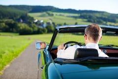 Automobile convertibile fotografie stock